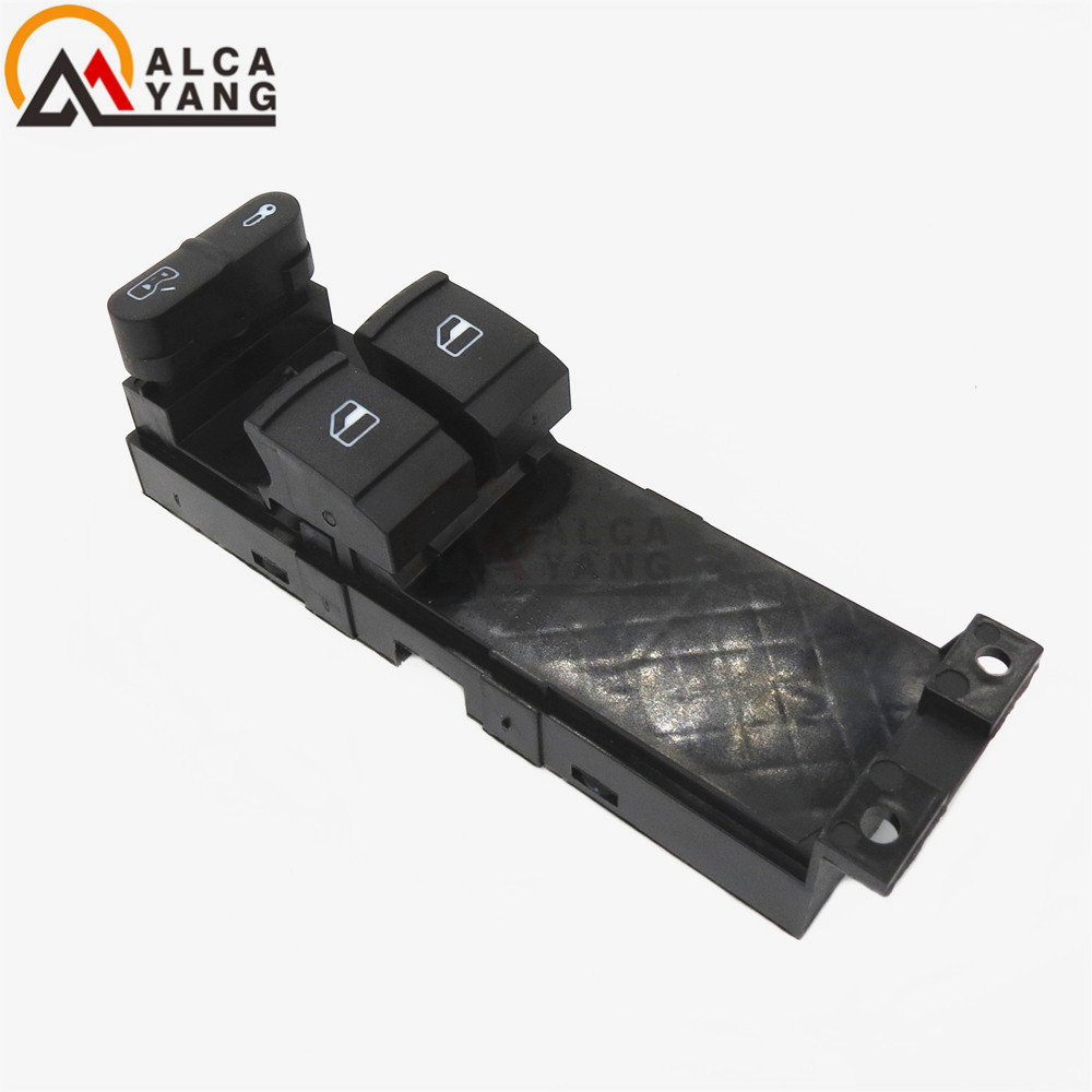 Car styling 1J3959857 FOR SKODA FABIA OCTAVIA VW BORA GOLF SEAT LEON ELECTRIC WINDOW SWITCH 1J3 959 857 B speedwow electric master window switch for skoda fabia 6y skoda octavia a4 1u 1999 2009 vw golf 1999 2005 1j3959857a