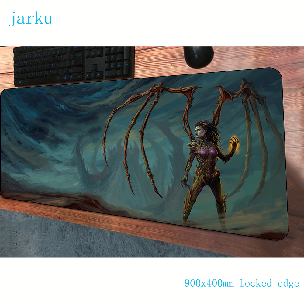 starcrafte <font><b>padmouse</b></font> <font><b>900x400x3mm</b></font> gaming mousepad game Indie Pop mouse pad gamer computer desk Professional mat notbook mousemat image