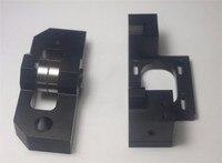 Lulzbot TAZ 3D printer upgraded Parts metal aluminum alloy X stepper motor mount+X axis bearing mount kit