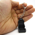 Creative metal Mini Auto Racing Seat model Keychain Car Parts Tuning Key Ring Key Chain collections Llavero