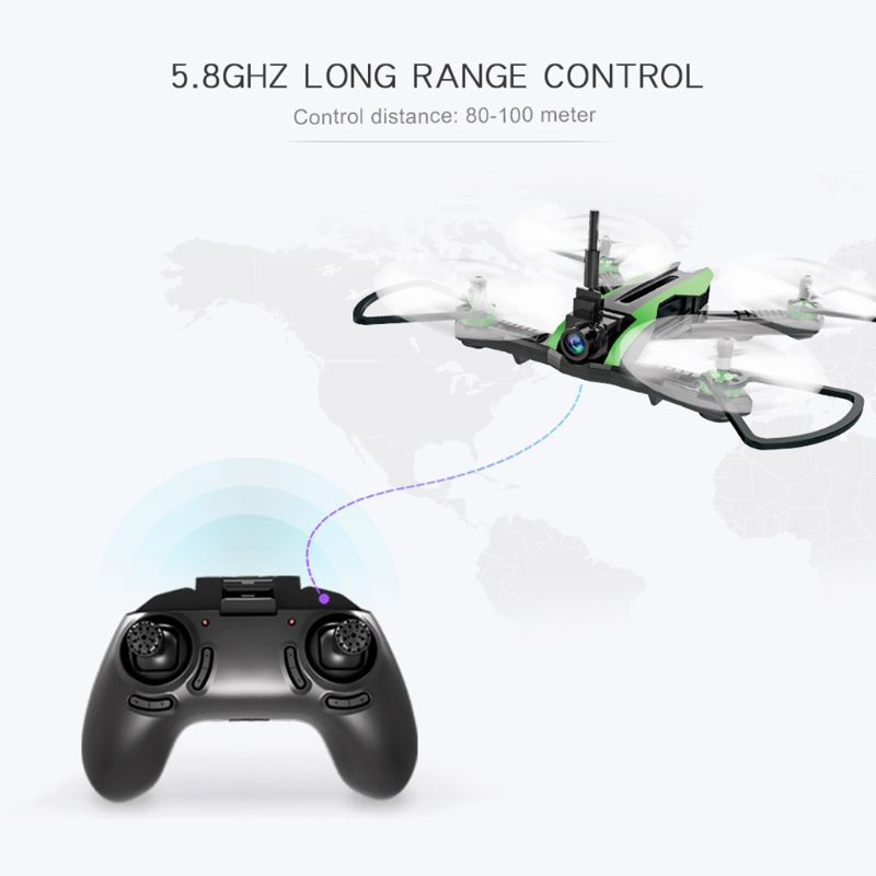 H825 5.8G VR Racing FPV Drone with Camera 55Km/h High Speed Wind Resistance Quadcopter RTF wihtout VR Glasses image