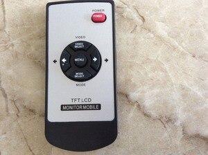"""Автомобильный TFT ЖК-монитор 5 """"800*480, 2ch видео монитор с дистанционным управлением, электрический складной для ТВ, камера заднего вида"""