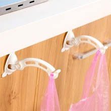 Ambry plastic hook bags receive rack bag holder 2pcs/set 15.3*5.9*5.8cm free shipping