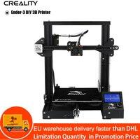Creality Ender 3 Desktop 3D Printer Kit V Slot Prusa I3 DIY Printer 220x220x250mm MK8 Extruder 1.75mm 0.4mm Nozzle Printing