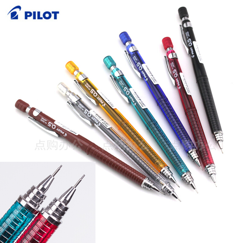 Mechanical Pencil 0.3 / 0.5 / 0.7 / 0.9 mm Original Japan office and school stationery Pilot H323/H-325/H327/H329 FREE SHIPPING quality mechanical pencils made in japan pilot h 323 h 325 h 327 h 329 drawing special 0 3 0 5 0 7 0 9mm