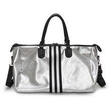 Купить с кэшбэком SAFEBET New Quality Travel Bag PU Leather Couple Travel Bags Hand Luggage For Men And Women Fashion Duffle Bag Travel