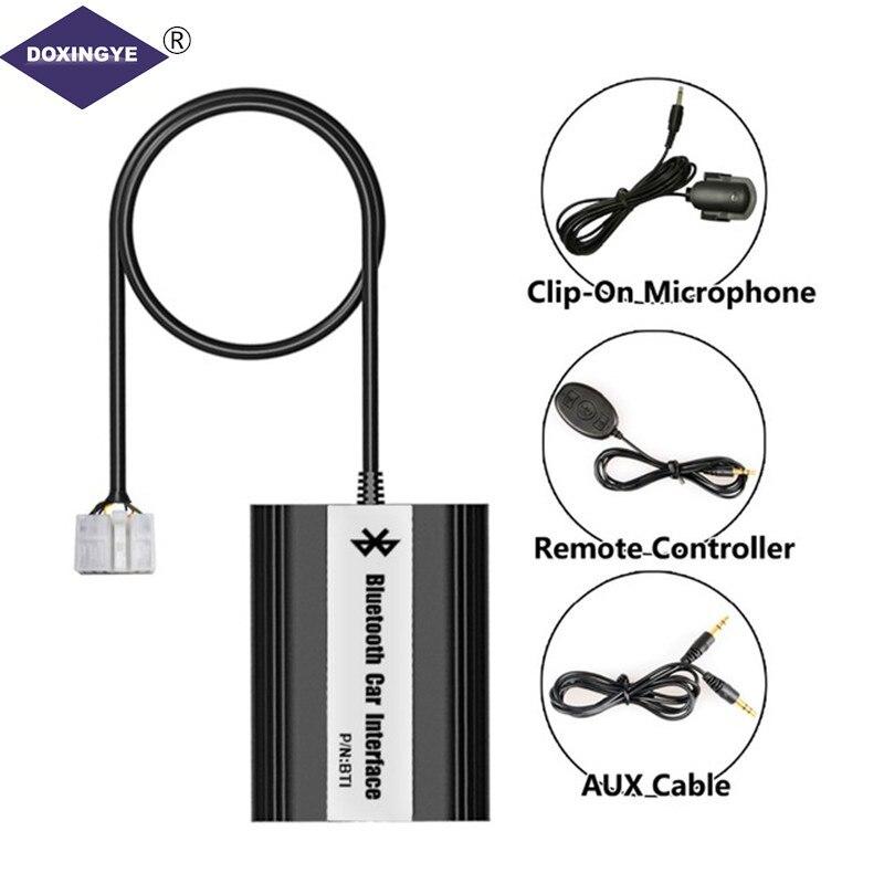 DOXINGYE, USB AUX Bluetooth Voiture Digital Music Changeur Cd Adaptateur Pour Toyota (5 + 7) Broches Camry Corolla Lexus RAV4 Yaris