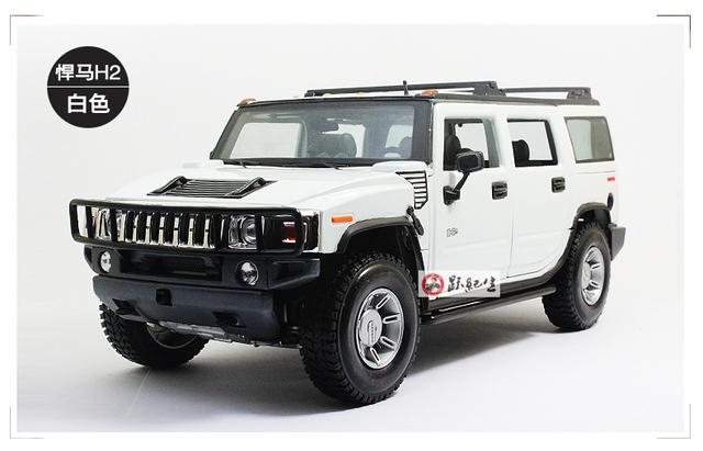 Brand New Maisto 1 18 Scale Usa Hummer H2 Suv Cast Metal Car Model Toy