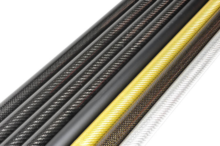1-4pcs 10MM OD x 6MM ID x 1000MM (1m) 100% Roll 3k Carbon Fiber tube / Tubing /pipe 2mm thickness Multicopter Model DIY 10*6