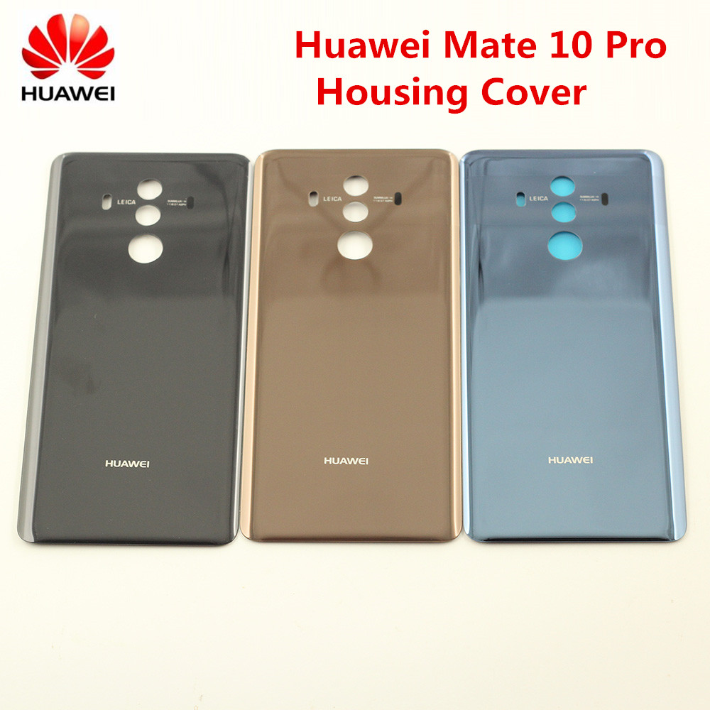 Case Sticker Housing-Cover Battery-Cover Replacement Mate Glass HUAWEI Back-Door Adhesive