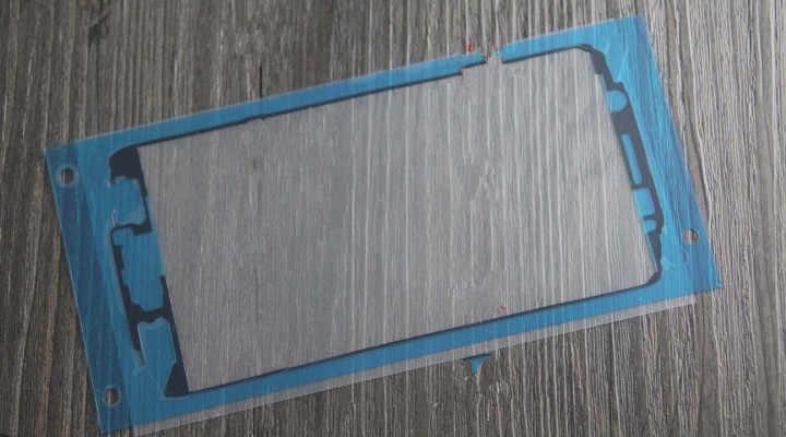 עבור סמסונג גלקסי S6 קצה SM-G925 LCD בחזרה דבק Screent קדמי מסגרת דבק סוללה כיסוי מדבקה