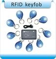 10 unids & 1 escritor hotel RFID keyfobs chips EM4305 125 KHz proximidad regrabable leer y escribir