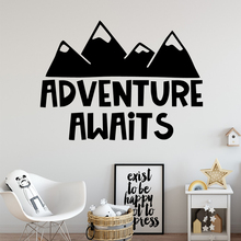 Colorful Adventure Decal Removable Vinyl Mural Poster For Kitchen Restaurant Wall Decal Home Decor