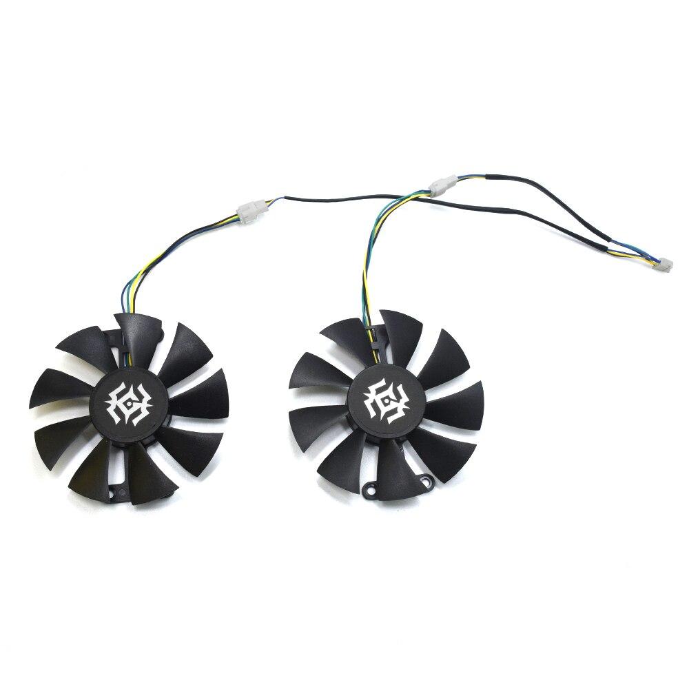 85mm GA91S2H DC 12 V 0.35A 4Pin 72X24mm ventilador para reemplazar colorido iGame GeForce GTX 1050Ti NVIDIA de videojuegos de refrigeración