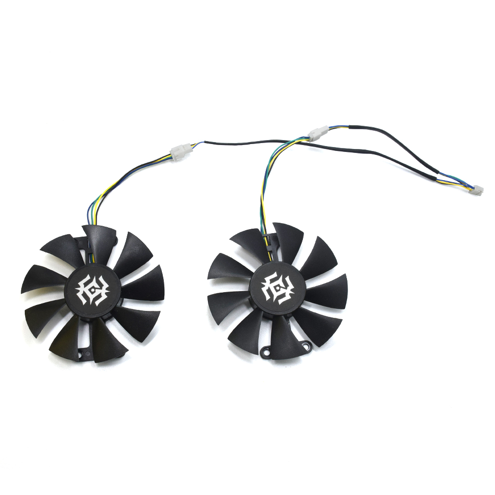 85mm GA91S2H DC 12V 0.35A 4Pin 72X24MM Cooler Fan Replace For Colorful GeForce iGame <font><b>GTX</b></font> <font><b>1050Ti</b></font> <font><b>NVIDIA</b></font> Gaming Video Card Cooling image