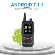 Anysecu G25PLUSเครือข่าย 4G LTE Intercom Android Walkie Talkie F25 4G WIFIวิทยุวิทยุทำงานร่วมกับZelloจริงPTT