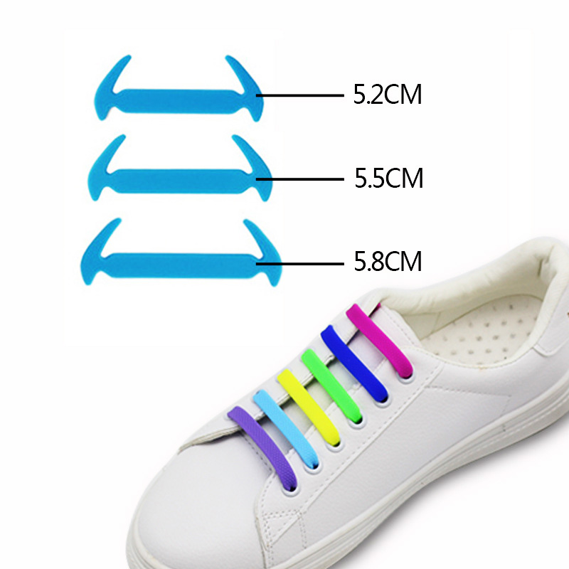 12PCS/set New Elastic Silicone Shoelaces For Women Men No Tie High Quality Shoe laces 6 Colors Rubber Shoelace12PCS/set New Elastic Silicone Shoelaces For Women Men No Tie High Quality Shoe laces 6 Colors Rubber Shoelace