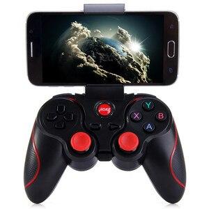 Image 1 - T3 משחק בקר אלחוטי ג ויסטיק Bluetooth 3.0 אנדרואיד משחקי Gamepad מרחוק Controle למחשב Tablet Xiaomi Huawei Smartphone