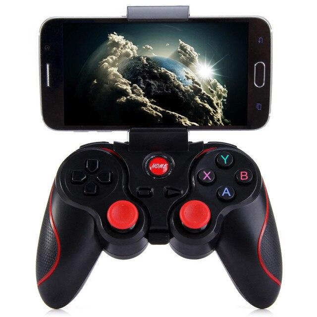 T3 משחק בקר אלחוטי ג ויסטיק Bluetooth 3.0 אנדרואיד משחקי Gamepad מרחוק Controle למחשב Tablet Xiaomi Huawei Smartphone