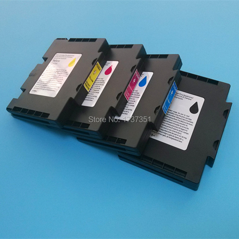for Ricoh GC41 compatible ink cartridge full with sublimation ink for Ricoh Aficio SG3110DN SG3100 printer 100ml 4 colors sublimation ink for ricoh gc21 gc31 gc41 heat transfer ink heat press sublimation ink sg3100 sg2100 e3300n e3350n