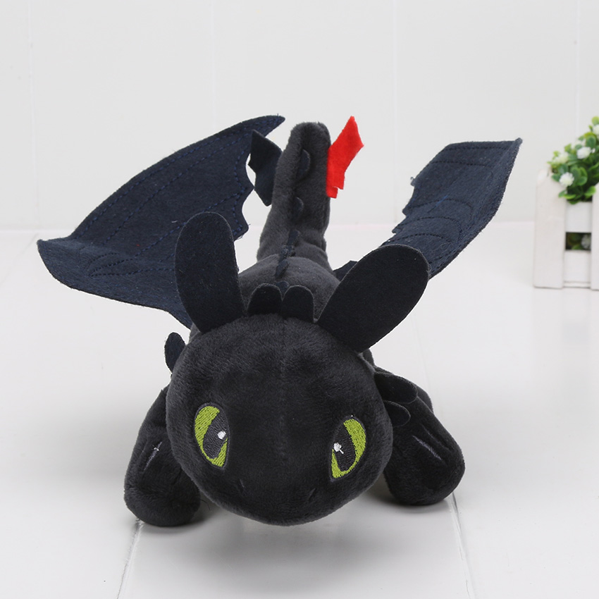 23-55cm-Anime-How-to-Train-Your-Dragon-plush-toys-Toothless-plush-Night-Fury-Plush-stuffed-animal-doll-toy-Christmas-kids-gift-1