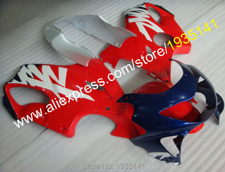 Hot Sales,For Honda CBR600 F4 99 00 Accessories CBR600F4 1999 2000 CBR 600 Body work ABS Motorcycle Fairing (Injection molding)