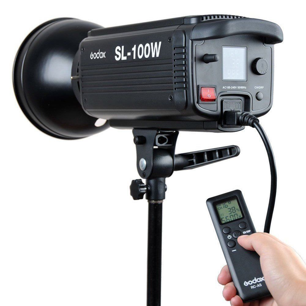 Godox SL-100W LED видео светлина 100W LED крушки - Камера и снимка - Снимка 3