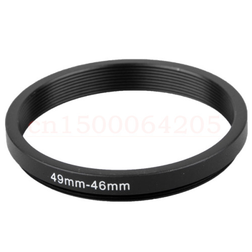 10pcs 49-46mm 49mm-46mm 49 to 46 Black Aluminum metal Neutral Brand Step down Filter Ring lens Adapter