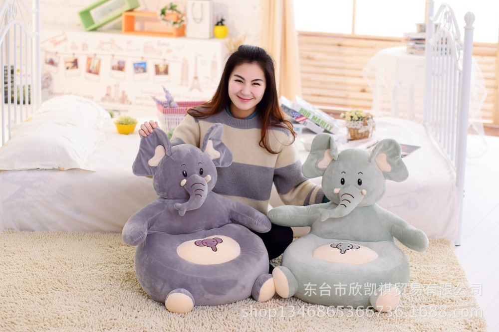 cartoon animal monkey , pig , elephant design about 60x45cm sofa tatami plush toy sofa floor seat cushion birthday gift w5477 about 54x45cm cartoon monkey plush toy zipper closure tatami soft sofa floor seat cushion brown colour birthday gift t8954