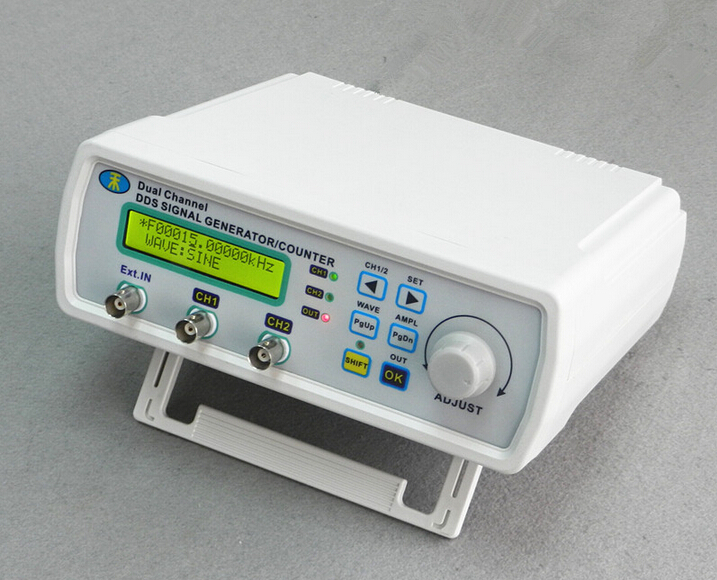 NEW power High Precision Digital Dual-channel DDS Signal Generator Arbitrary waveform generator MHS-5200P 20MHz Amplifier 80kHz mhs 5212p power high precision digital dual channel dds signal generator arbitrary waveform generator 6mhz amplifier 80khz