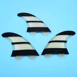3 шт./компл. Размеры M/G5 стекловолокна и Мёд гребень доски для серфинга для FCS G5 Box Surf Fin хвост двигателей штурвала принадлежности для серфинга