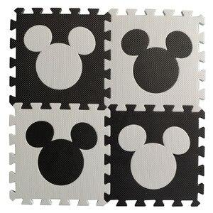 Image 1 - Meitoku bébé EVA mousse puzzle tapis de jeu/cheval de troie imbriqué exercice tapis de sol carreaux, tapis pour enfants, Each32cmX32cm