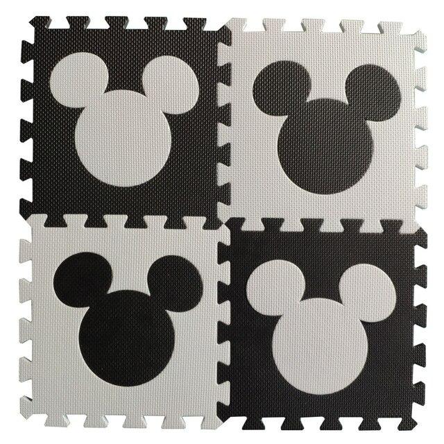 Meitoku bébé EVA mousse puzzle tapis de jeu/cheval de troie imbriqué exercice tapis de sol carreaux, tapis pour enfants, Each32cmX32cm
