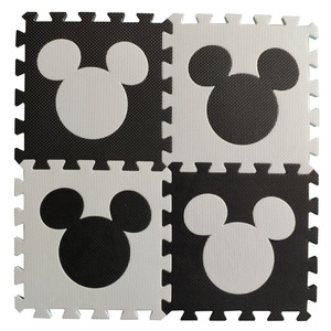 Image 1 - Meitoku baby EVA foam puzzle play mat/ Trojan horse Interlocking Exercise floor carpet Tiles, Rug for kids,Each32cmX32cm