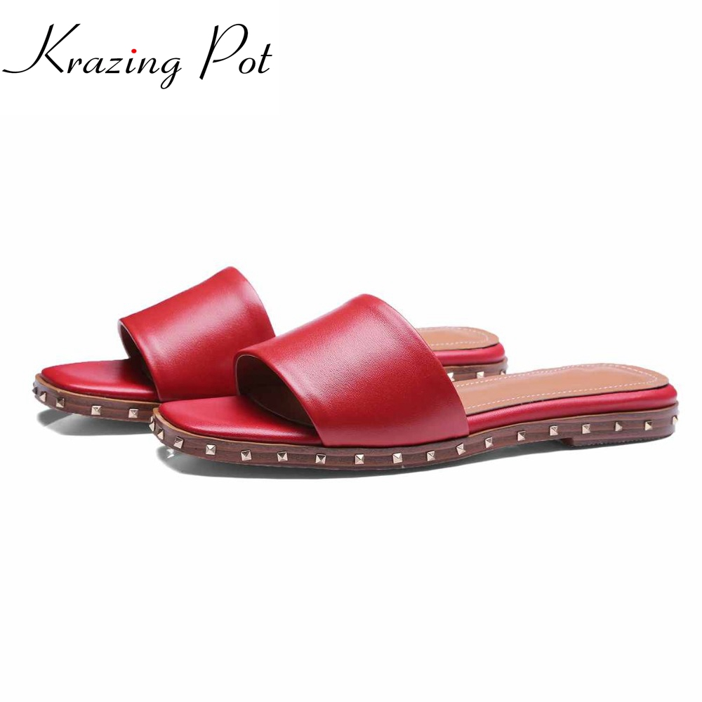new spring summer slip on shoes for women 2017 ladies low heels sandals women embroidery shoes women black sandals floral shoes 2017 fashion genuine leather superstar brand shoes slip on women sandals rivets gradiator peep toe low heels summer shoes L09