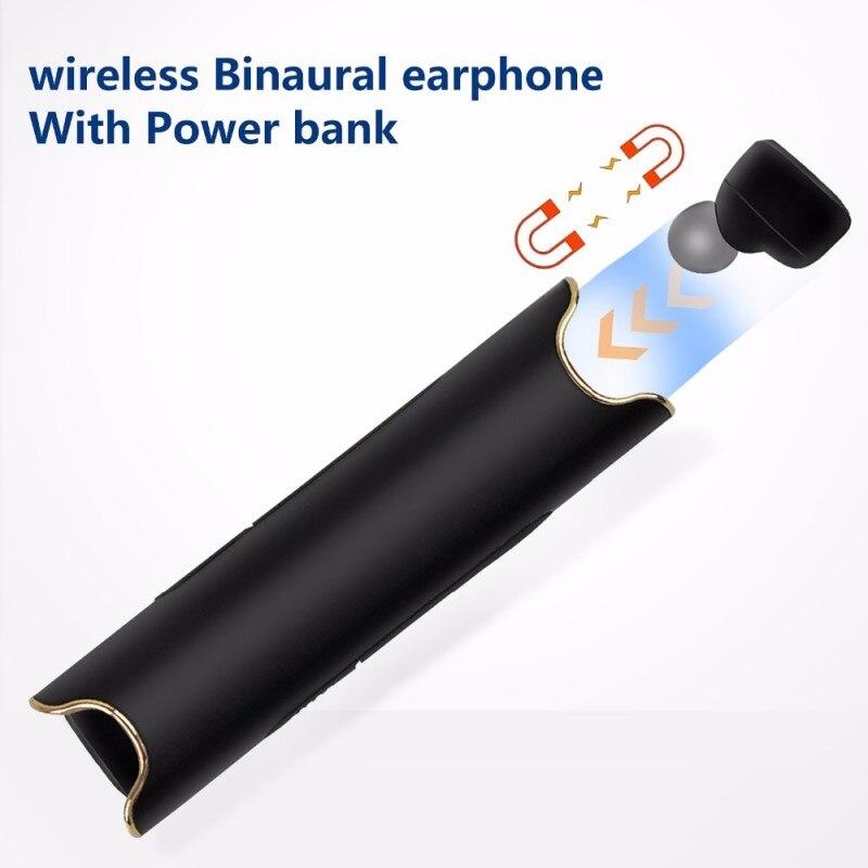 Letike Bluetooth 4.2 Earphones Wireless Waterproof Sport Earbuds with Charging Station Handsfree Call clear loud In-ear Headset