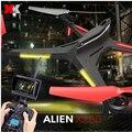 XK X250 Verion com 720 P Câmera e Monitor de FPV 4CH 6 Eixo RC Quadcopter RTF Compatível Com Futaba S-FHSS Natal presentes