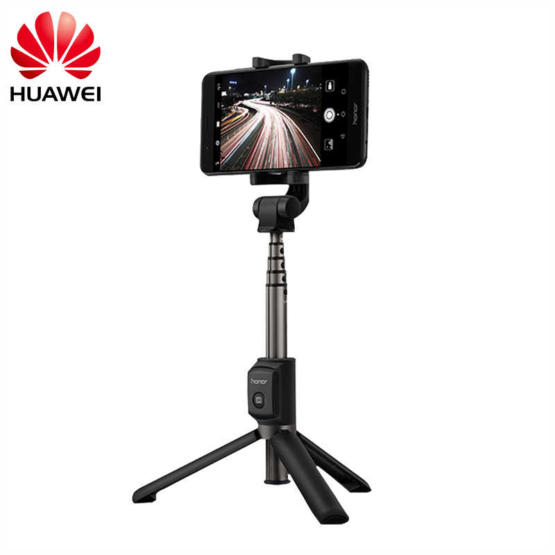 Huawei Honor Selfie Stick Tripod Portable Bluetooth3.0 Monopod untuk IOS/Android/Huawei Xiaomi Smart Phone