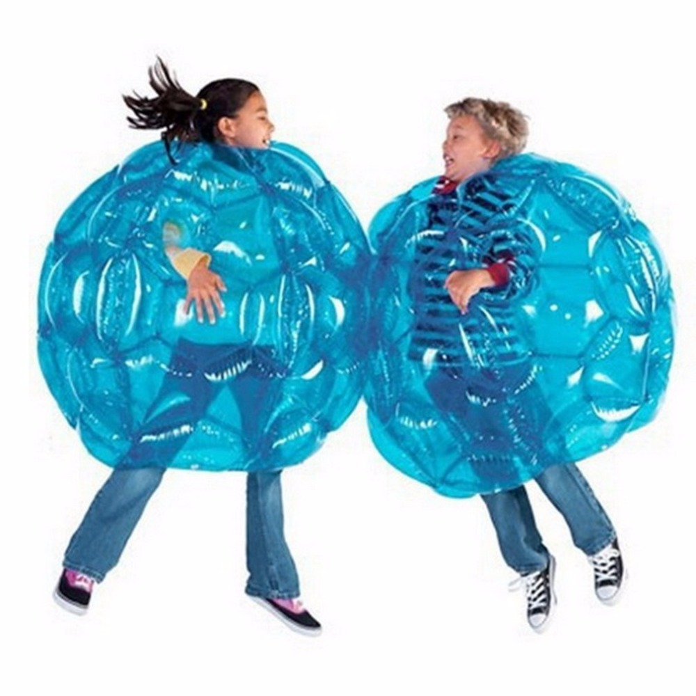 Outdoor Activity Inflatable Bubble Buffer Balls Collision Body Bumper Ball Friendly For Kids Funny Body Punching Ball 60 cm
