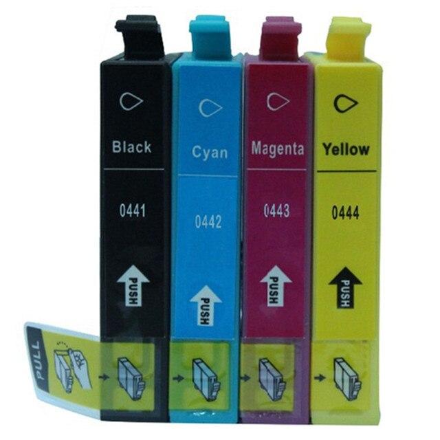 replacement t0441 e 441 t0444 ink cartridges for epson stylus c64 rh aliexpress com Epson Stylus CX 7800 Printer Manual Epson Inkjet Printers