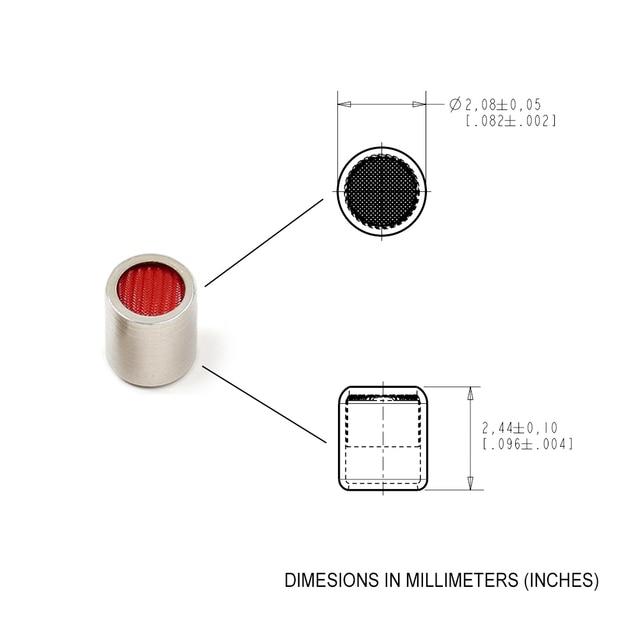 2PCS Balanced Armature Damping Damper Plugs filters Knowles Acoustic Dampers for Shure Se215 se315 se425 se535 Se846 TF10 LM5144 2