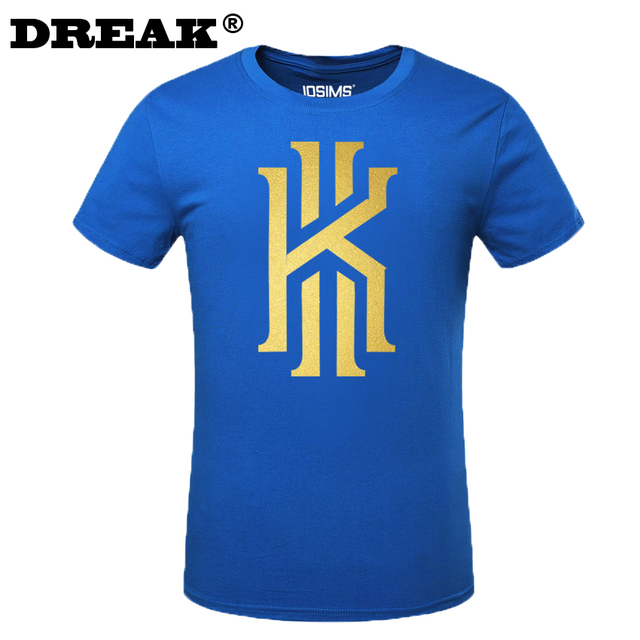 2016 Summer Cavalierse Kyrie Irving Short-sleeved T-shirt child bodybuilding t-shirt maillot de basket mens t-shirt