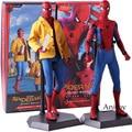 Action Figure Crazy Speelgoed Spiderman Homecoming Spider-Man Deluxe Versie 1/6th Schaal Collectible Figure Collectible Model Toy