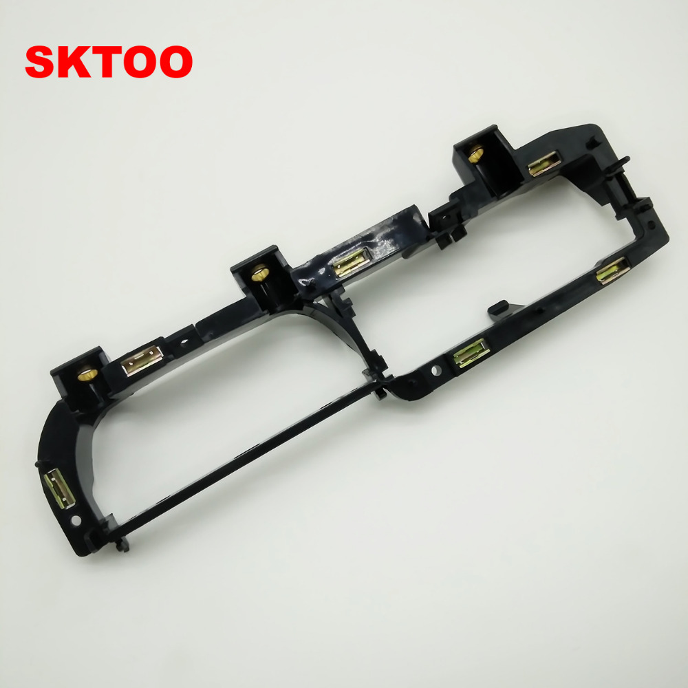 SKTOO For vw Passat B5 front left door handle bracket base Handrails base Inside handle base