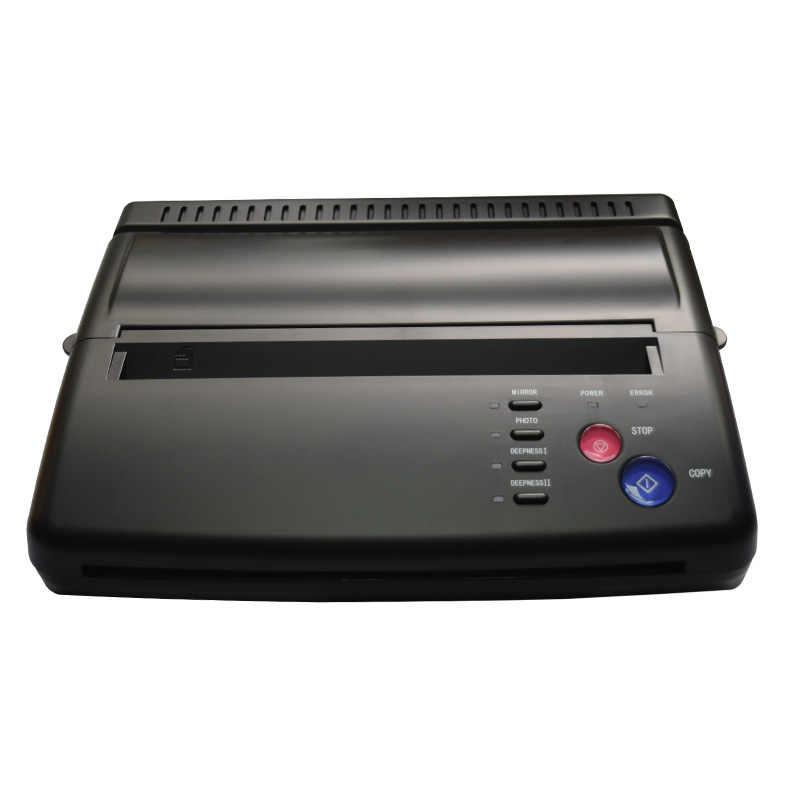 Máquina de transferência térmica da cópia do estêncil da tatuagem do preto do papel de transferência a4 do preço mais baixo