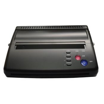 Maquiagem Tattoo Copy Machine lowest price A4 Transfer Paper black Tattoo copier thermal stencil copy Transfer Machine for Airst practical set 100 sheets tattoo thermal stencil transfer copier paper a4