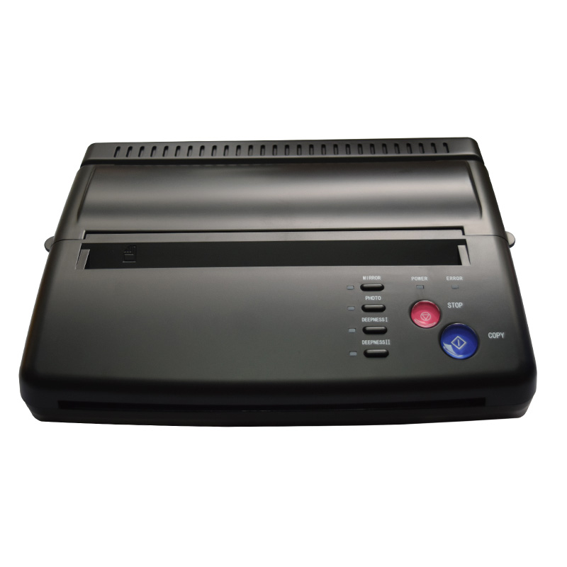 Maquiagem Tattoo Copy Machine lowest price A4 Transfer Paper black Tattoo copier thermal stencil copy Transfer Machine for Airst
