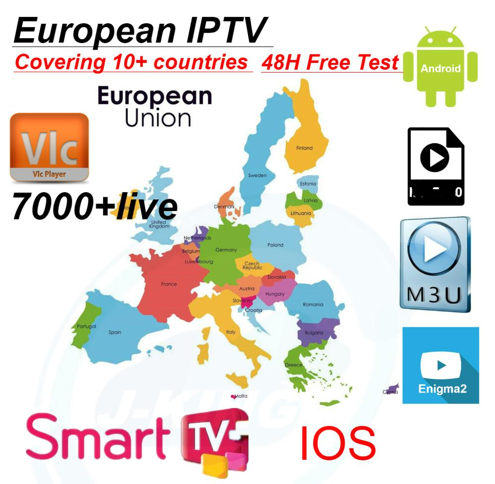 1 year Francese IPTV 3000 Channels Europe Arabic French Belgium IPTV subscription for Enigma2 m3u france