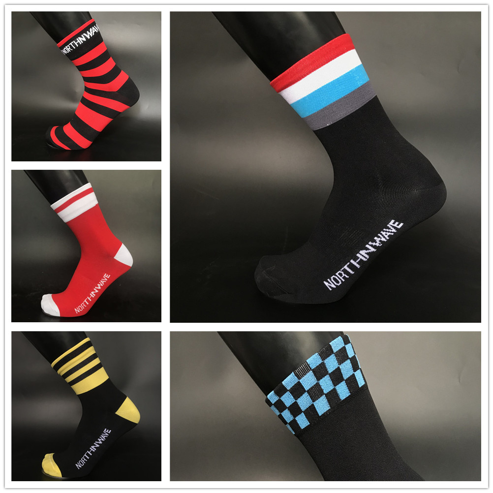 Sports Professional Cycling Socks Men Women Breathable Road Bicycle Socks Outdoor Sports Racing Bike Compression Socks
