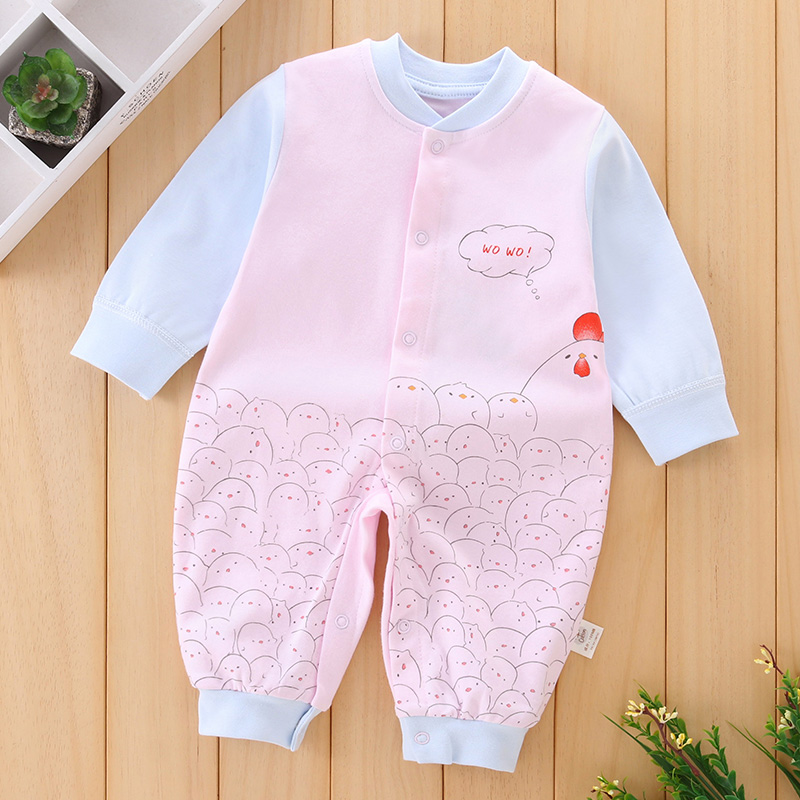 2018 New Baby Onesie Boy Girl Romper Spring Autumn Kids Comfortable Warm Clothes